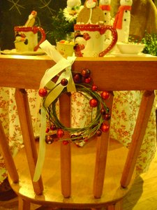 La Petite Fleur, snowman table, green xmas table 084
